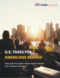 Filing U S  expat tax return if you are American overseas